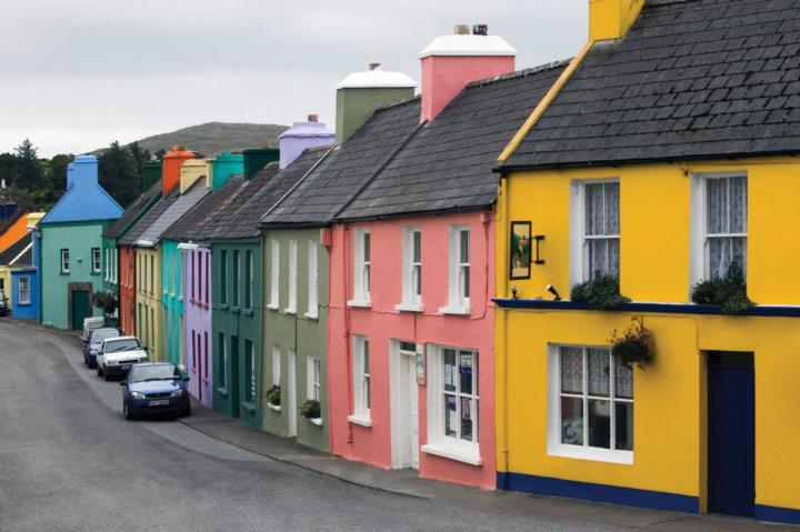 Разнообразие фасадной краски