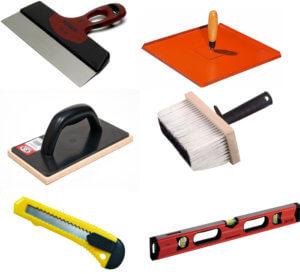 Инструменты для выравнивания потолка