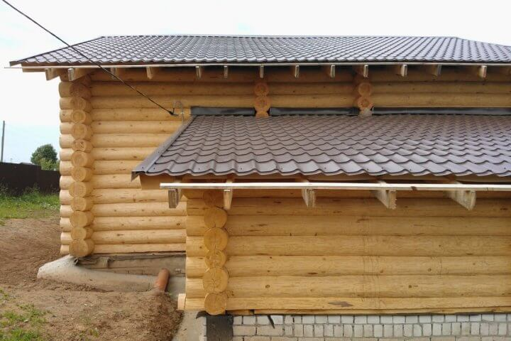 Крыша для пристройки