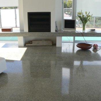 Полировка бетона своими руками: особенности процедуры