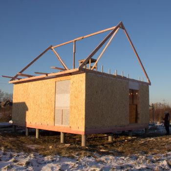 Столбчатый фундамент для каркасного дома: правила изготовления и рекомендации