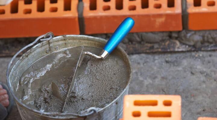 Цементный раствор для кладки