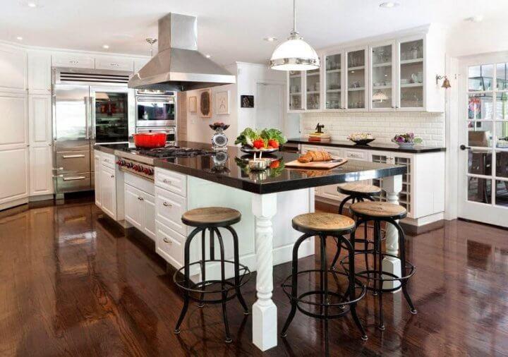 Кухонный остров в интерьере