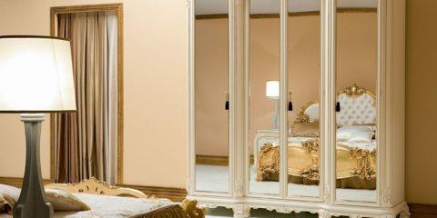 Шкаф с зеркалом в интерьере