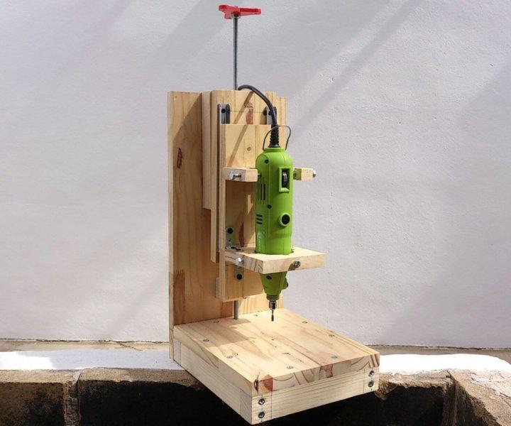 Деревянная станина для дрели
