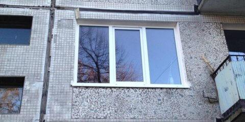Окно в панельном доме