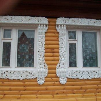 Обналичка окон в деревянном доме: назначение, стили, изготовление