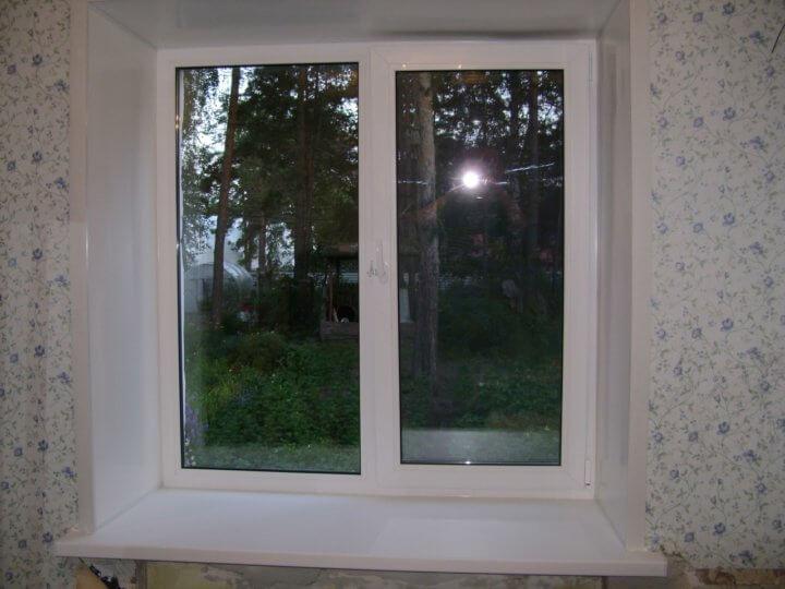 Эконом вариант пластикового окна