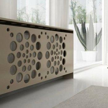 Экран для радиатора отопления: преимущества его использования и изготовления своими руками