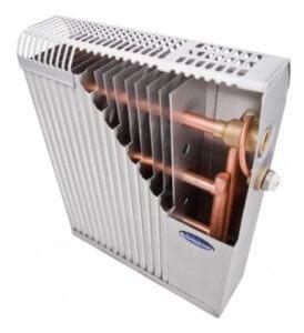 Конструкция пластинчатого радиатора отопления
