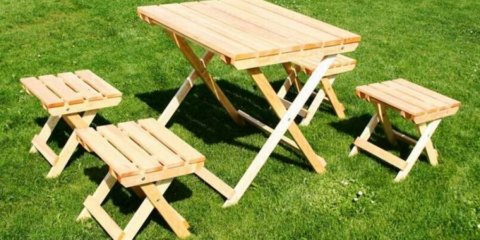 Складной стол сделанный своими руками