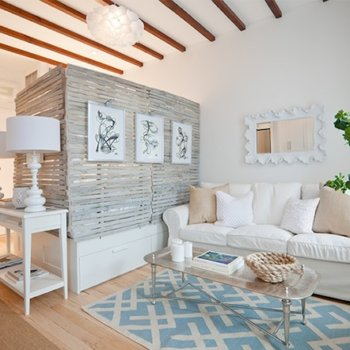 Разделение комнаты на спальню и гостиную, как правильно зонировать помещение