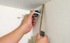 Разметка стен и потолка