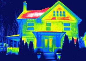 Проверка энергосберегаемости дома тепловизором