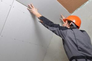 Выравнивание потолка гипсокартоном без профиля