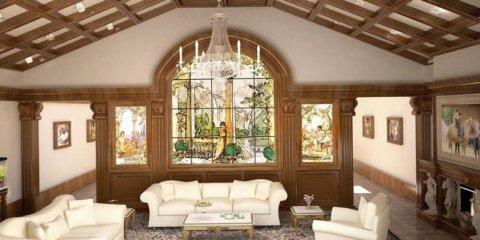 Чем подшить потолок в частном доме