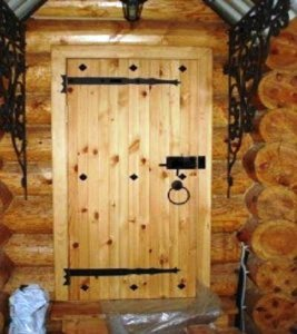 Щитовая дверь