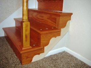 Ламинат для лестницы