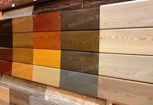 планкен из разных пород дерева