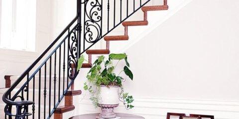 планировка лестницы на второй этаж