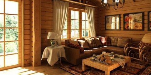 Деревенский дом оформление внутри
