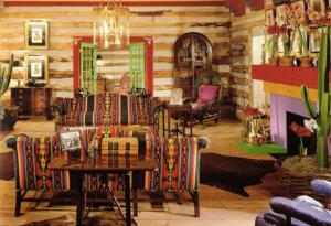 Оформление дома в стиле этно