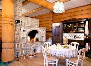 оформление дома в деревенском стиле