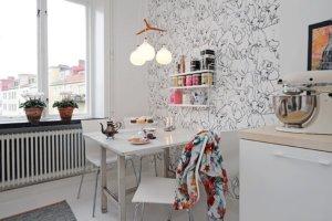 Финский стиль в интерьере, правила оформления, декорирование детской, гостиной, кухни, ванной