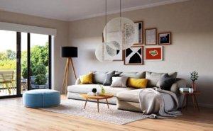 Цветовое решение интерьера в скандинавском стиле