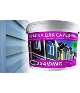 Краска для сайдинга pro.saiding, Jobi, резиновая, состав и характеристики, правила нанесения