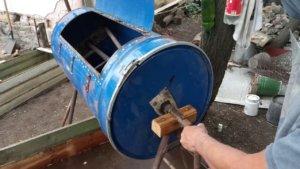 Бетономешалка из бочки своими руками, чертежи, материалы, сборка агрегата