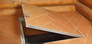 Как сделать люк в погреб своими руками, рекомендуемые габариты, какие материалы используют для изготовления люка